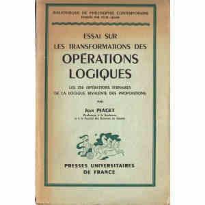 ESSAI SUR LES TRANSFORMATIONS DES OPERATIONS LOGIQUES