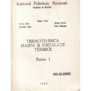 TERMOTEHNICA MASINI SI INSTALATII TERMICE de STANCA TRIFAN 2 VOLUME
