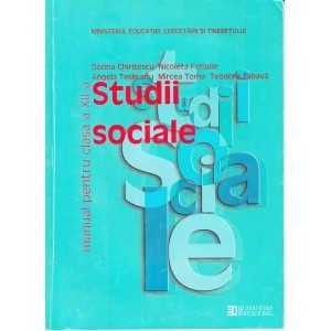 STUDII SOCIALE. MANUAL PT CLASA A XII A de DORINA CHIRITESCU
