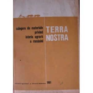 CULEGERE DE MATERIALE PRIVIND ISTORIA AGRARA A ROMANIEI