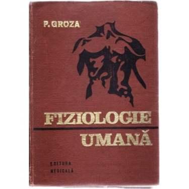 FIZIOLOGIE UMANA de P. GROZA