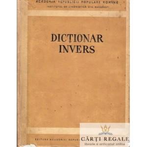 DICTIONAR INVERS