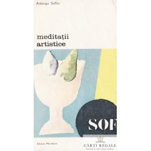 MEDITATII ARTISTICE de ARDENGO SOFFICI