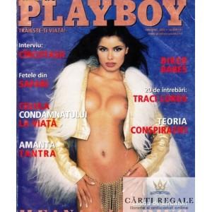 REVISTA PLAYBOY DIN IANUARIE 2002 (ILEANA LAZARIUC)