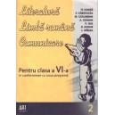 LITERATURA. LIMBA ROMANA. COMUNICARE PT CLASA A VI A de FL. IONITA PARTEA 2