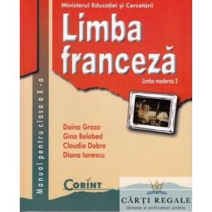 LIMBA FRANCEZA - MANUAL PT CLS A X A LIMBA 2 de DOINA GROZA ED. CORINT