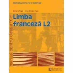 Manual LIMBA FRANCEZA CLS A IX A LIMBA 2 de MARIANA POPA si ANCA MONICA POPA ED. HUMANITAS