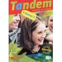TANDEM 2 - MANUAL LIMBA FRANCEZA  de C. BERGERON, ED. DIDIER
