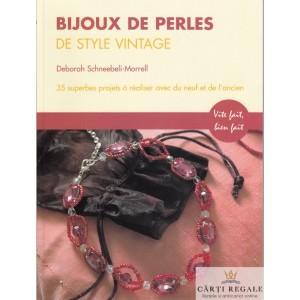 BIJOUX DE PERLES DE STYLE VINTAGE de DEBORAH SCHNEEBELI-MORRELL