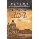 MEMORII de CELLINI, ALFIERI, CASANOVA