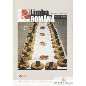 LIMBA ROMANA NR. 7-8 (181-182) DIN 2010