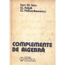 COMPLEMENTE DE MATEMATICA de ION D. ION