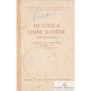 METODICA LIMBII ROMANE (GRAMATICA)