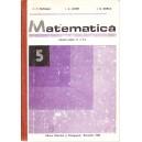 MATEMATICA. MANUAL PT CLASA A V A de C. P. POPOVICI