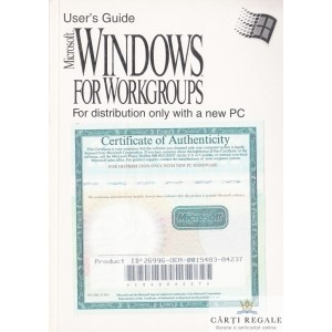 USER'S GUIDE. WINDOWS FOR WORKGROUPS