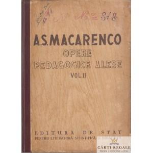 OPERE PEDAGOGICE ALESE de A.S. MACARENCO VOLUMUL II