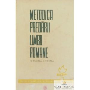 METODICA PREDARII LIMBII ROMANE IN SCOALA GENERALA de STANCIU STOIAN