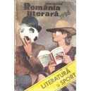 ALMANAH ROMANIA LITERARA 1986. LITERATURA SI SPORT
