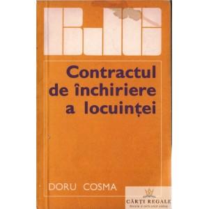 CONTRACTUL DE INCHIRIERE A LOCUINTEI de DORU COSMA