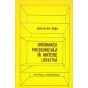 ORDONANTA PRESEDENTIALA IN MATERIE LOCATIVA de CONSTANTIN CRISU