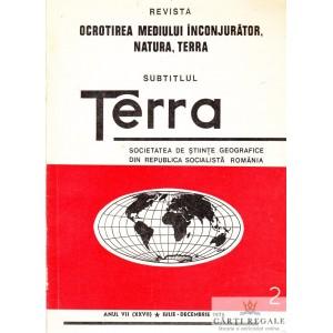 REVISTA OCROTIREA MEDIULUI INCONJURATOR, NATURA, TERRA. SUBTITLUL TERRA NR. 7/1975
