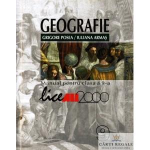GEOGRAFIE. MANUAL PENTRU CLASA A IX  A de GRIGORE POSEA ED. ALL