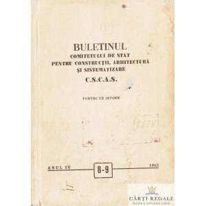 BULETINUL COMITETULUI DE STAT PENTRU CONSTRUCTII, ARHITECTURA SI SISTEMATIZARE