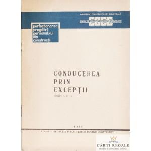 CONDUCEREA PRIN EXCEPTII de C. GEORGESCU