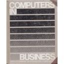 COMPUTERS IN BUSINESS de DONALD H. SANDERS