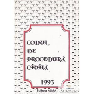 CODUL DE PROCEDURA CIVILA 1993