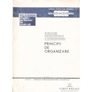 PRINCIPII DE ORGANIZARE de C. GEORGESCU