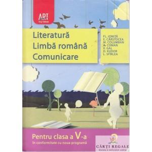 LITERATURA. LIMBA ROMANA. COMUNICARE PT CLASA A V A de FL. IONITA PARTEA 2