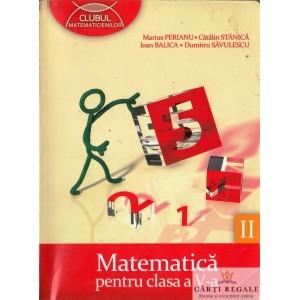 MATEMATICA PT CLASA A V A PARTEA A II A CLUBUL MATEMATICIENILOR de CATALIN STANICA