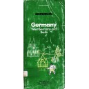 GERMANY. WEST GERMANY AND BERLIN. MICHELIN TOURIST GUIDE