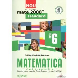 MATEMATICA. ALGEBRA SI GEOMETRIE CLASA  A VI A MATE 2000+ STANDARD de RADU GOLOGAN