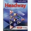 HEADWAY INTERMEDIATE. STUDENT'S BOOK de JOHN & LIZ SOARS + DVD