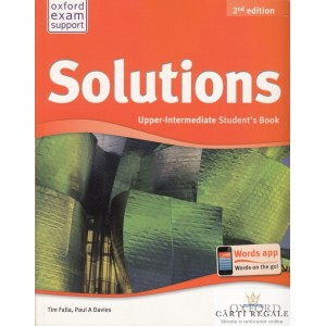 SOLUTIONS UPPER-INTERMEDIATE STUDENT'S BOOK de TIM FALLA
