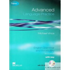 ADVANCED LANGUAGE PRACTICE.  MANUAL DE LIMBA ENGLEZA de MICHAEL VINCE