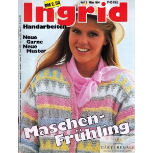 INGRID - REVISTA DE TRICOTAJE NR. 3 MARTIE 1984
