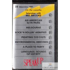 CASETA AUDIO - SPEAK UP NR. 55 DECEMBRIE 1991