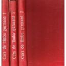 LIMBA GERMANA. CURS PRACTIC de JEAN LIVESCU SI EMILIA SAVIN 3 VOLUME