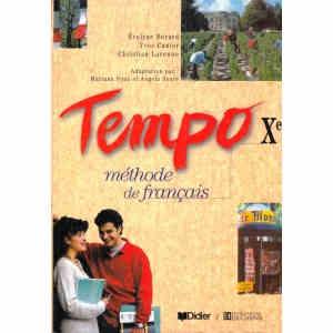 TEMPO METHODE DE FRANCAIS. MANUAL PENTRU CLASA A X A