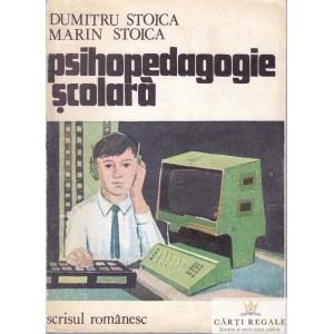 PSIHOPEDAGOGIE SCOLARA de DUMITRU STOICA
