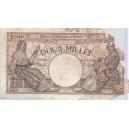 BANCNOTA DE 2000 LEI DIN 1941 SERIA V. 0225 0146