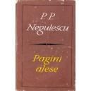 PAGINI ALESE de P. P. NEGULESCU