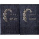 PRIDE AND PREJUDICE de JANE AUSTEN 2 VOLUME