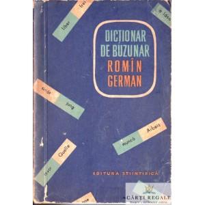 DICTIONAR DE BUZUNAR ROMAN -GERMAN de MIHAI ISBASESCU