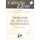 PROBLEME DE ANALIZA MATEMATICA de ION PETRICA VOL. I (CLASA A XI A)