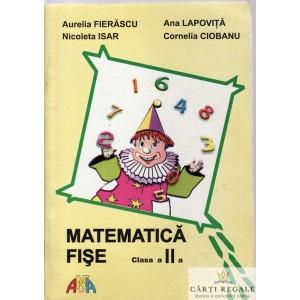 MATEMATICA DISE CLASA A II A de AURELIA FIERASCU