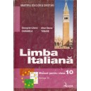 LIMBA ITALIANA. MANUAL PT CLASA A X A LIMBA III de GEORGETA-LILIANA CARABELA ED. LOGOS